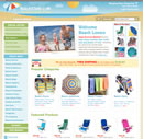 Beachstore home page