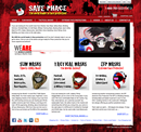 Save Phace home page
